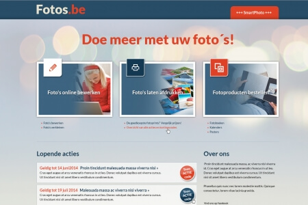 De website van Fotos.be